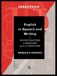 Cover English in Speech and Writing