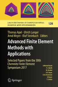 Cover Advanced Finite Element Methods with Applications