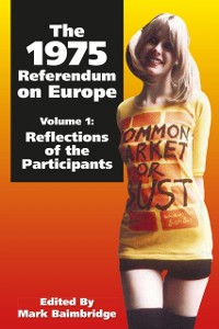 Cover 1975 Referendum on Europe - Volume 1
