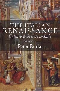 Cover The Italian Renaissance