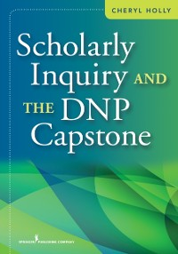 Cover Scholarly Inquiry and the DNP Capstone