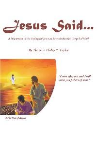 Cover Jesus Said...