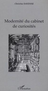 Cover Modernite du cabinet de curiosites