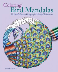 Cover Coloring Bird Mandalas