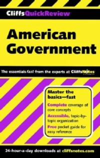 Cover CliffsQuickReview American Government
