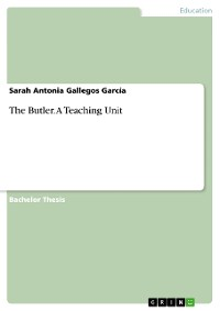 Cover The Butler. A Teaching Unit