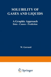 Cover Solubility of Gases and Liquids