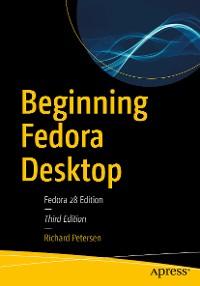 Cover Beginning Fedora Desktop
