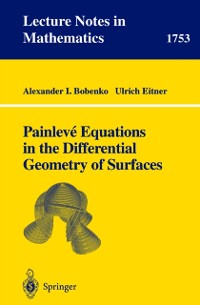 Cover Painleve Equations in the Differential Geometry of Surfaces