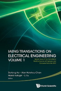 Cover Iaeng Transactions On Electrical Engineering Volume 1 - Special Issue Of The International Multiconference Of Engineers And Computer Scientists 2012