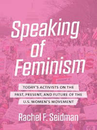 Cover Speaking of Feminism