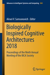 Cover Biologically Inspired Cognitive Architectures 2018