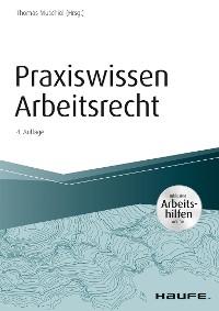 Cover Praxiswissen Arbeitsrecht - inkl. Arbeitshilfen online