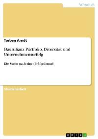 Cover Das Allianz Portfolio. Diversität und Unternehmenserfolg