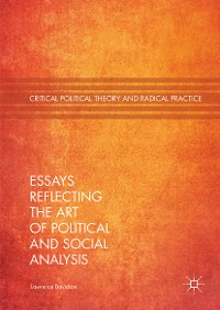 Cover Essays Reflecting the Art of Political and Social Analysis