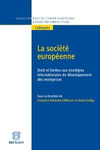 Cover La société européenne