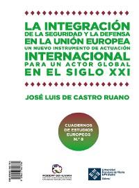 Cover La integración de la seguridad y la defensa en la UE · Integration of security and defence in the EU
