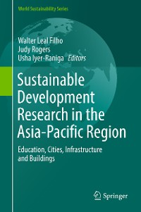 Cover Sustainable Development Research in the Asia-Pacific Region