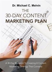 Cover The 30 Day Content Marketing Plan