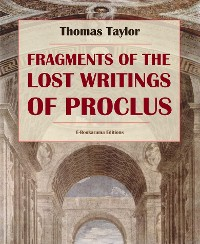 Cover Fragments of the Lost Writings of Proclus