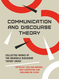 Cover COMMUNICATION AND DISCOURSE THEORY DG