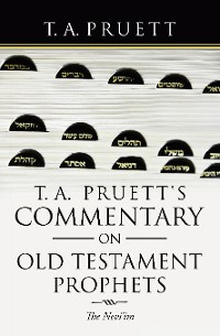 Cover T. A. Pruett's Commentary on Old Testament Prophets