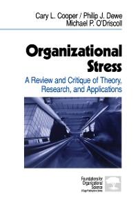 Cover Organizational Stress