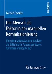 Cover Der Mensch als Faktor in der manuellen Kommissionierung