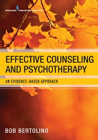 Cover Effective Counseling and Psychotherapy