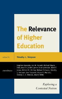 Cover The Relevance of Higher Education