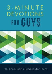 Cover 3-Minute Devotions for Guys