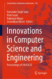 Cover Innovations in Computer Science and Engineering