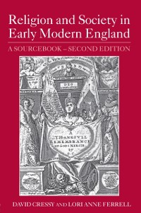 Cover Religion and Society in Early Modern England