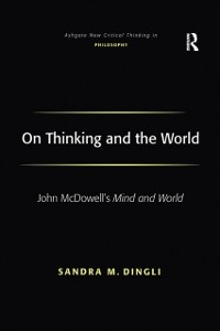 Cover On Thinking and the World
