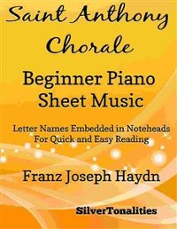Cover Saint Anthony Chorale Beginner Piano Sheet Music