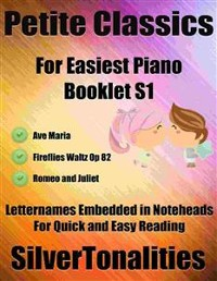 Cover Petite Classics for Easiest Piano Booklet S1
