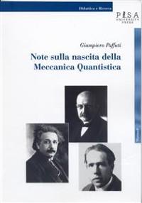 Cover Note sulla nascita della meccanica quantistica
