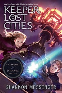 Cover Keeper of the Lost Cities Illustrated & Annotated Edition