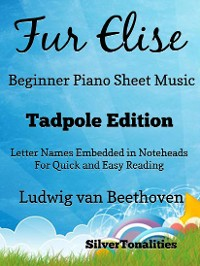 Cover Fur Elise Beginner Piano Sheet Music Tadpole Edition