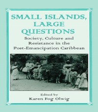 Cover Small Islands, Large Questions
