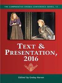 Cover Text & Presentation, 2016