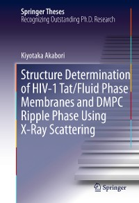 Cover Structure Determination of HIV-1 Tat/Fluid Phase Membranes and DMPC Ripple Phase Using X-Ray Scattering