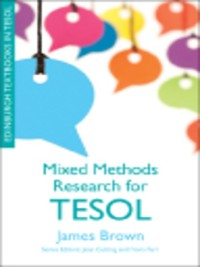 Cover Mixed Methods Research for TESOL