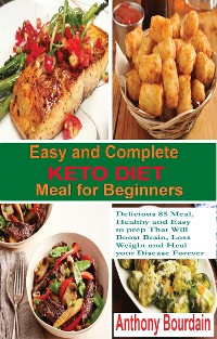 Cover Easy and Complete Keto Diet Meal for Beginners