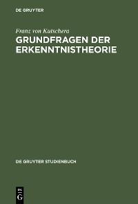 Cover Grundfragen der Erkenntnistheorie