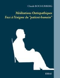 Cover Méditations Ostéopathiques