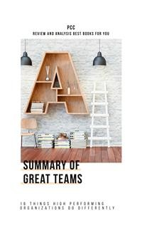 Cover Summary of Great Teams