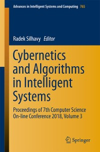 Cover Cybernetics and Algorithms in Intelligent Systems