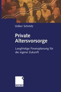 Cover Private Altersvorsorge