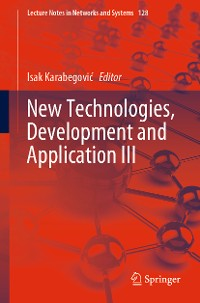 Cover New Technologies, Development and Application III